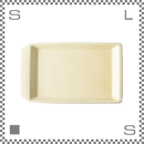 aiyu アイユー kiritoru キリトルアイアン プレート Lサイズ ホワイト W29.6/D17.6/H2.5cm スクエアプレート 波佐見焼 日本製