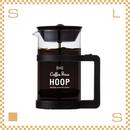 RIVERS リバーズ コーヒープレス フープ 720ml ブラック 計量スプーン付 COFFEE PRESS HOOP