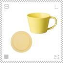SAKUZAN サクザン SARA サラ コーヒーカップ&ソーサー イエロー パステルカラー 日本製