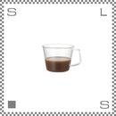 KINTO キントー CAST キャスト コーヒーカップ 220ml 耐熱ガラス製