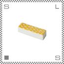 aiyu アイユー ORIME オリメ 鹿の子 カノコ 箸置き イエロー W5.5/D1.7/H1.3cm チョップスティックレスト 波佐見焼 日本製