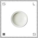aiyu アイユー motte モッテ プレート Sサイズ ホワイト Φ16.2/H3.6cm リムあり ボウル 波佐見焼 日本製