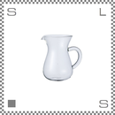 キントー SCS-02-CC スローコーヒースタイル コーヒーカラフェ 300ml 耐熱ガラス コーヒーポット