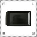 aiyu アイユー kiritoru キリトルアイアン プレート Lサイズ ブラック W29.6/D17.6/H2.5cm スクエアプレート 波佐見焼 日本製