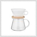 SNOWTOP COFFEE series スノウトップ コーヒーポット&ドリッパーセット 600ml W125/D155/H170mm ドリッパースタンドセット