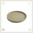 ハサミポーセリン プレート 直径220mm ナチュラル Φ220/H21mm スタッキング可 HP004 Hasami Porcelain