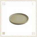 ハサミポーセリン プレート 直径185mm ナチュラル Φ185/H21mm スタッキング可 HP003 Hasami Porcelain