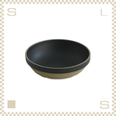 ハサミポーセリン ラウンドボウル 直径185mm ブラック Φ185/H55mm スタッキング可 HPB032 Hasami Porcelain