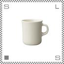 キントー SCS スローコーヒースタイル マグ 400ml ホワイト マグカップ