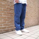 Wide denim easy pants