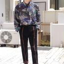 all pattern silk shirt