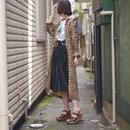 leopard pattern shirt dress