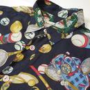 Tennis pattern S/S shirt
