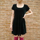 80s Velours S/S mini dress