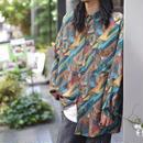 90s L/S silk shirt