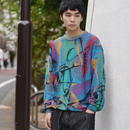 colorful design knit