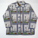 Lighthouse pattern gobelins jacket