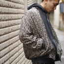 """ROBERT STOCK"" silk blouson"