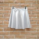Metallic circular skirt