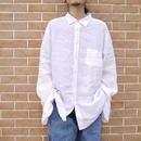 Big size linen shirt