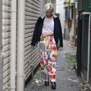 """JAMS WORLD"" colorful easy pants"
