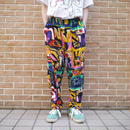 80's POP ART easy pants