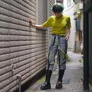 """00s """"jamie sadock"""" cyber pattern pants"""