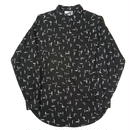 80s rayon all pattern shirt