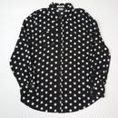 Dots pattern rayon shirt