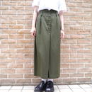 Hi-waist long skirt