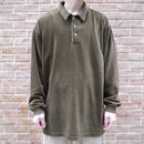 Corduroy pullover shirt
