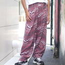 "90's ""ZUBAZ"" wide easy pants"