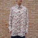 Flower pattern L/S shirt