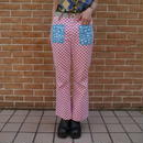 "70s ""Peter Max / Wrangler"" flare pants"