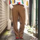 60s wool check pants