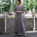 flower pattern S/S dress