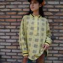 80s L/S polo shirt