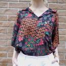 70s Flower S/S shirt