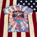 【USED】MLB NY SUBWAY SERIES tee タイダイ M