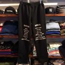 【ラス1】RUGGED SAT/IND urbanfit sweat pants ブラック L