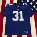 【USED】NFL NY GIANTS SEHORN 31 jersey ブルー M