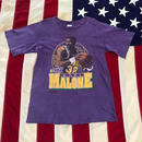 【USED】90s NBA K.MALONE 1 tee パープル L