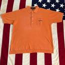 【USED】POLO SPORT POCKET polo shirt オレンジ XL