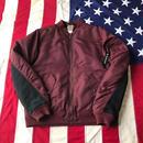 【USED】Carhartt MA-1 jacket バーガンディ XL