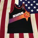 【USED】CHAMPION PHOENIX SUNS jersey ブラック L