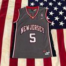 【USED】NIKE J.KIDD 5 jersey グレー M