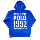【ラス1】RUGGED Poloholic hoody ブルー M