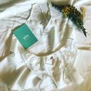 シルクコットンフレアキャミソール&ふわりショーツ White