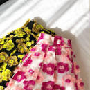 (select)flower skirt