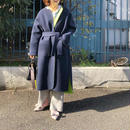 (original)neo coat  (ネイビー×ネオンライム)